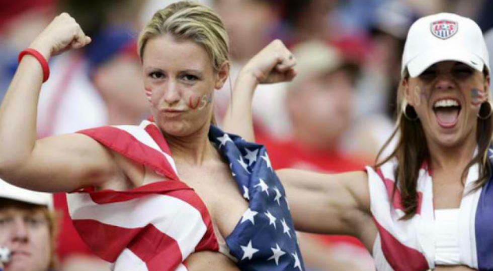 suporter amerika